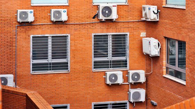 Klimaanlagen Klimawandel Klimakrise