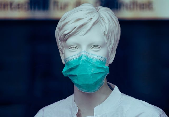 OP-Masken bieten vor allem Fremdschutz.
