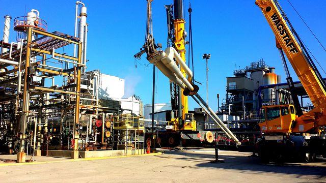 Der technische Aufwand nimmt zu, um neue Erdgasvorkommen zu nutzen.