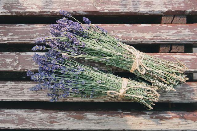 Getrockneter Lavendel riecht nicht nur gut und wirkt beruhigend sondern vertreibt auch Kleidermotten