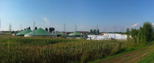 Biogas aus landwirtschaftlichen Abfällen ist eine Alternative.