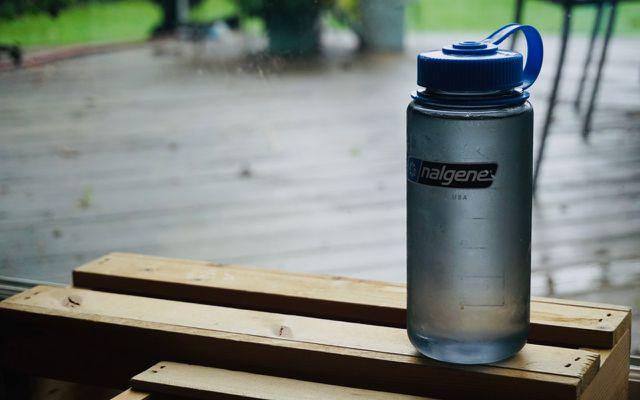 Minimalist living tips drink tap water bottle