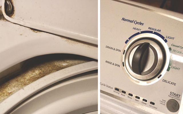 washing machine smells stinks eliminate odors in laundry