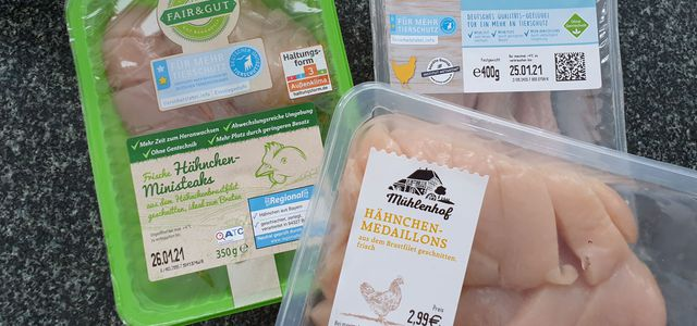 Tierwohl-Label: Fleischtest bei Aldi, Lidl, Netto, Norma und Penny