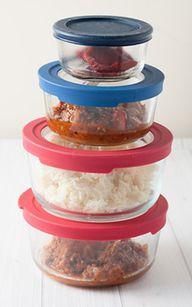 storing food box of plastic