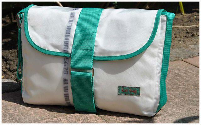 Upcycling Produkte aus Müll: Taschen aus Airbags bei kar bag