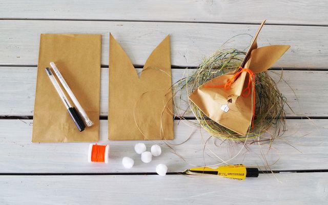 Osterdeko selber machen: Geschenktüten