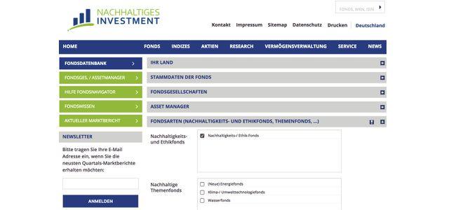 Nachhaltige ETF finden auf nachhaltiges-investment.org