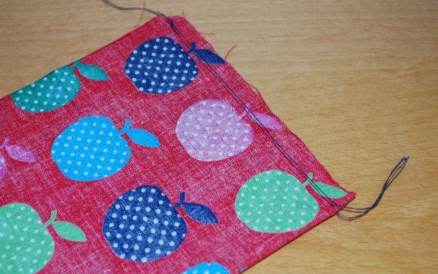 DIY heating pad pillow sewing instructions