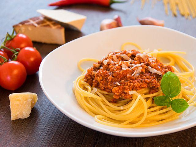 Verwechselbar: Spaghetti mit Tofu-Bolognese_4