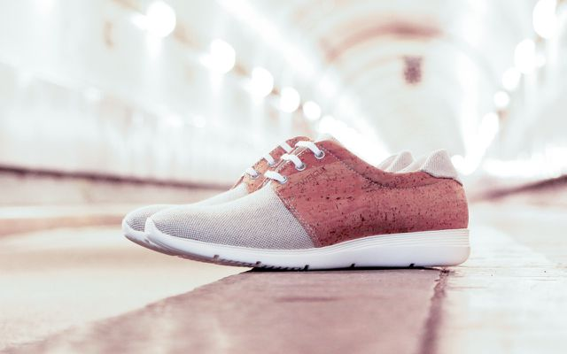 "Recycling-Sneaker ""Echt"" von Zweigut"