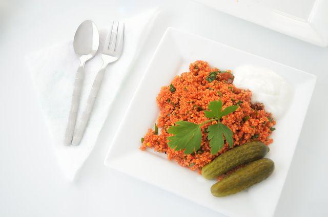 Mit etwas Phantasie kannst du Bulgur sehr vielfältig in der Küche einsetzen.