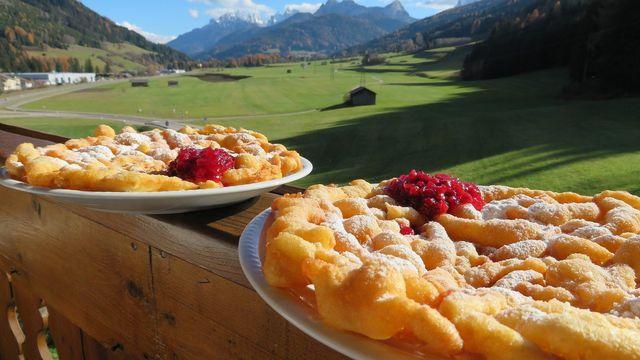 Strauben: Rezept aus Südtirol
