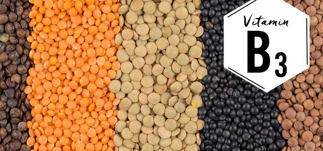 Vitamin B3 Hülsenfrüchte