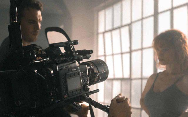 kamera, filmdreh, Buffy
