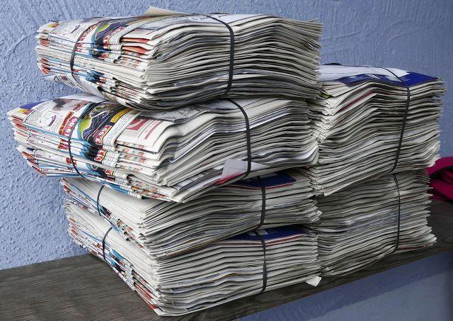 """Du kannst Papier sparen, indem du ein """"Werbung verboten""""-Schild an deinen Briefkasten anbringst."""