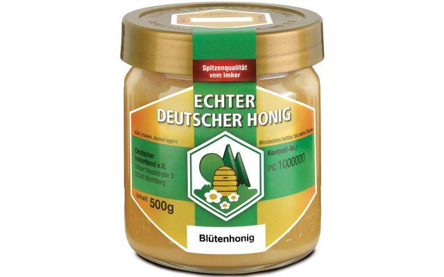 """""""Echter Deutscher Honig"""" unterscheidet sich durch seine höheren Qualitätsstandards von Honig im Neutralglas"""