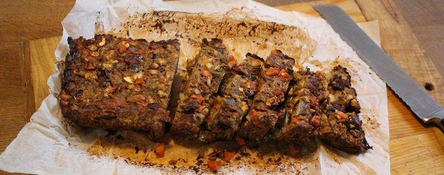 Maronen-Nussbraten: Ein festliches Hauptgericht ganz ohne Fleisch.