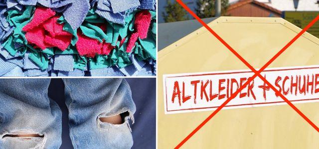Kaputte Kleidung Und Alte Stoffreste Entsorgen So Gehts Utopiade