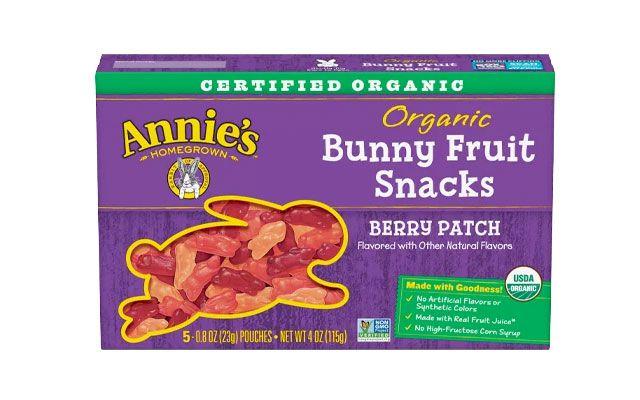 annies organic bunny fruit snack vegan gummy bears