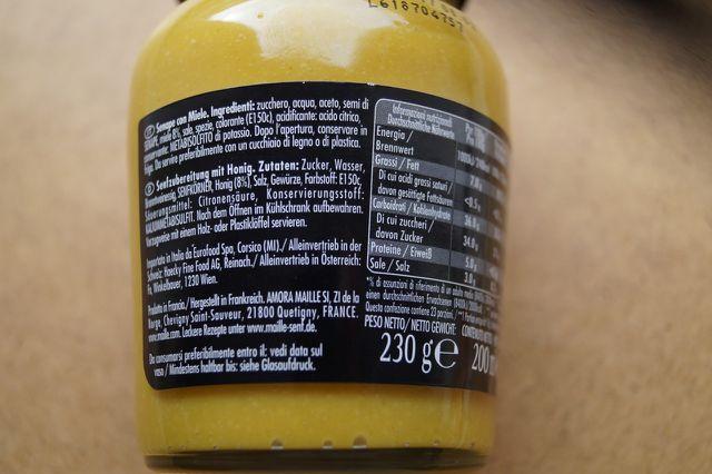 E-Nummern Zusatzstoffe E150C Ammoniak-Zuckerkulör Senf