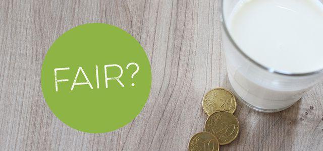 Niedrige Milchpreise: Am besten faire Marken kaufen