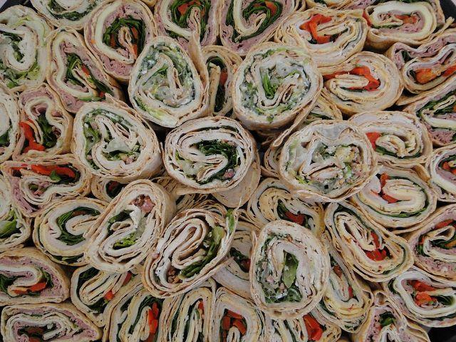 Wraps sind sehr vielseitig und wandlungsfähig.