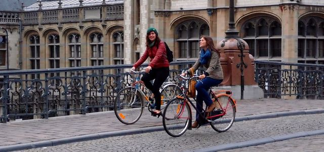 Frische Luft tut auch zur kalten Jahreszeit gut! Autofasten und Fahrrad fahren
