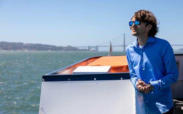 Boyan Slat, der Gründer von The Ocean Cleanup.