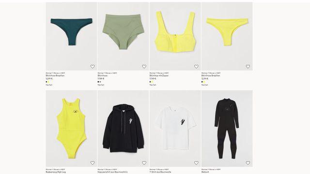 H&M, Bademode, Surfen, Women + Waves
