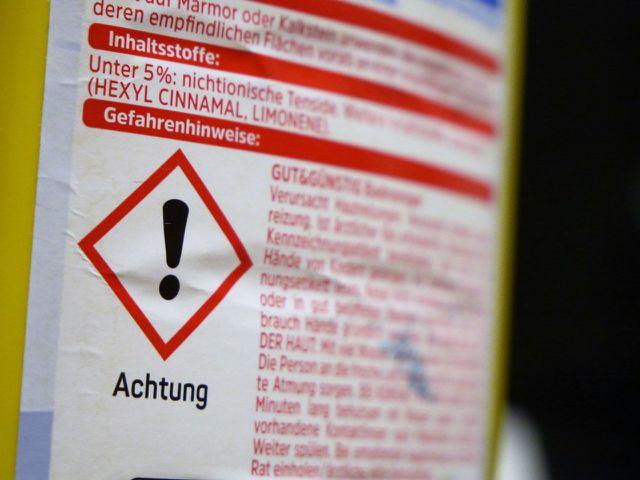 Hexyl Cinnamal steckt unter anderem in diesem Reinigungsmittel.