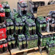 Coke-Life-Einwegflaschen beim Discounter