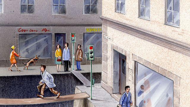 Illustration: So viel Platz haben Autos in der Stadt