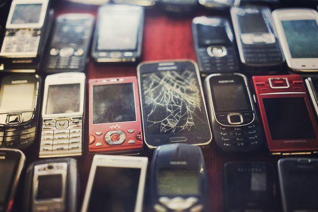 Handys werden ständig ersetzt