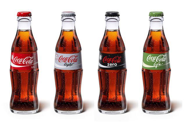 Die Coca-Cola-Range 2015 (Foto: Coca Cola Deutschland)