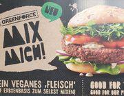 Greenforce: Veganer Fleischersatz auf Erbsenbasis