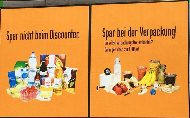 Fuellbar Unverpackt verpackungsfreier Supermarkt Werbung Netto