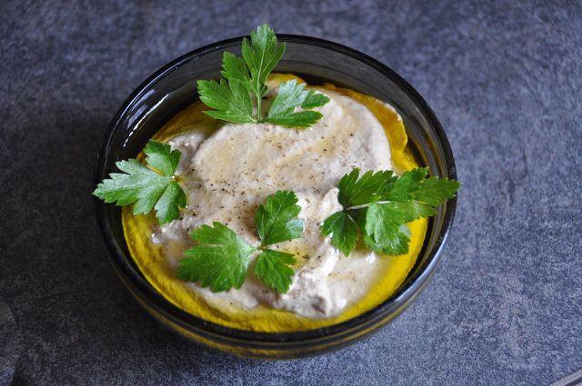 Baba Ghanoush kannst du auch aus eingefrorenen Auberginen zubereiten.
