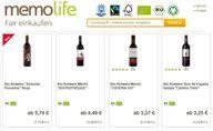 Veganer Wein mit Fair-Trade-Siegel bei Memolife