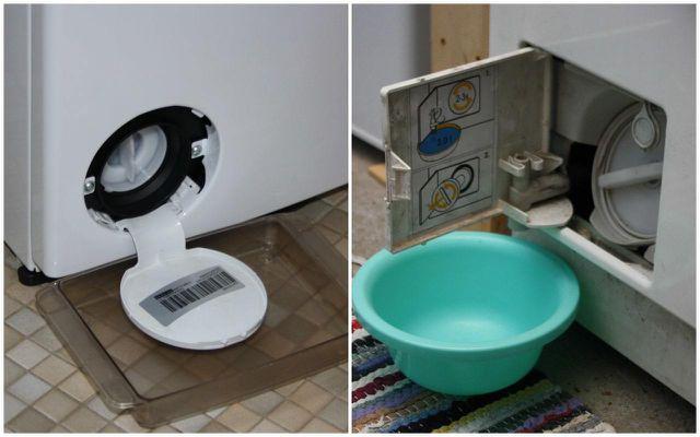 Waschmaschinen-Flusensieb reinigen funktioniert je nach Waschmaschinentyp ein wenig anders.