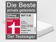 Test Sieger Bei Stiftung Warentest Bodyguard Von Bett1de