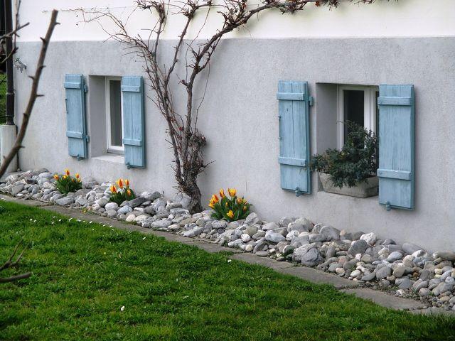 Ein Spalierbaum verschönert jede Hauswand