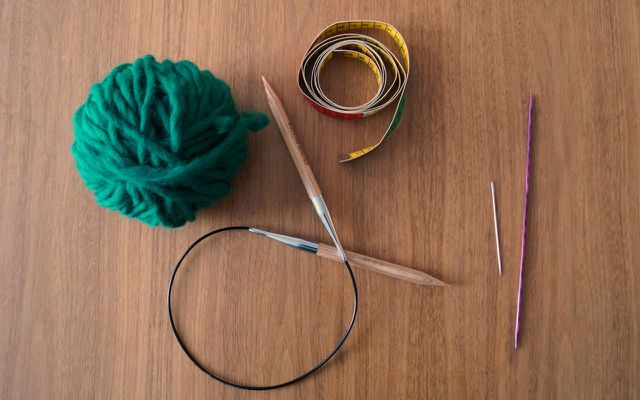 How to knit your own headband knitted headband materials