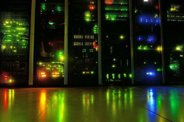Software liegt auf Servern - und die verbrauchen viel Strom.