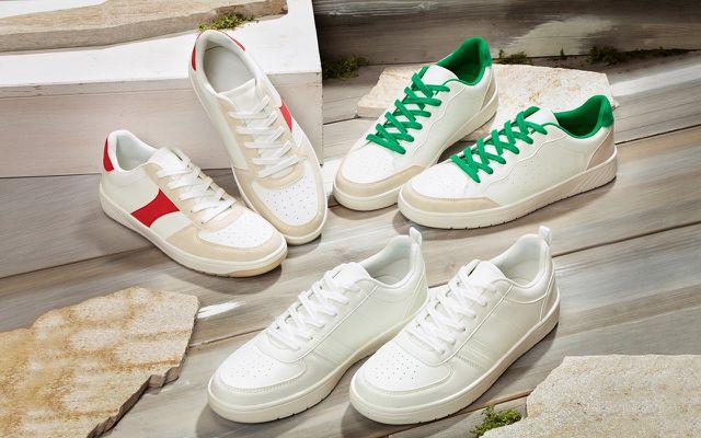 Aldi, Schuh, Sneaker, Klimaneutral