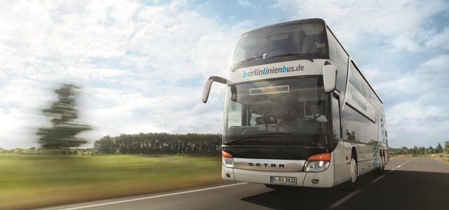 Fernbus-Linien von berlinlinienbus.de
