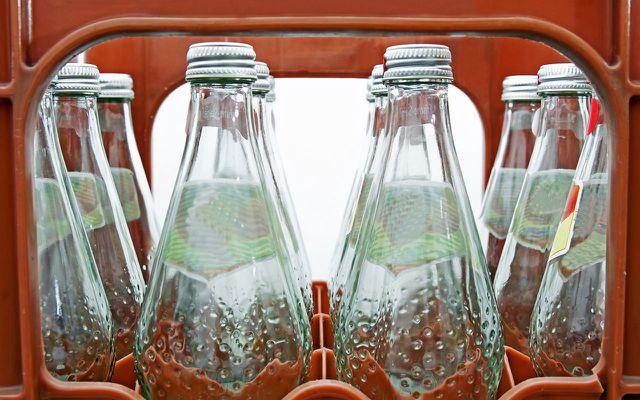 Dinge, die du nur recycelt kaufen solltest: Glas