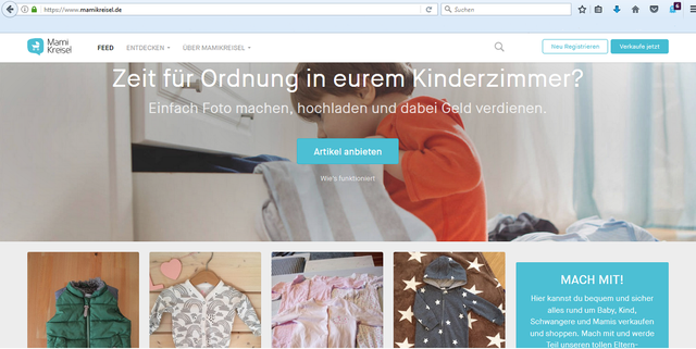 on sale cdfaf 0f11d Gebrauchte Kinderkleidung & Co.: die beliebtesten Online ...