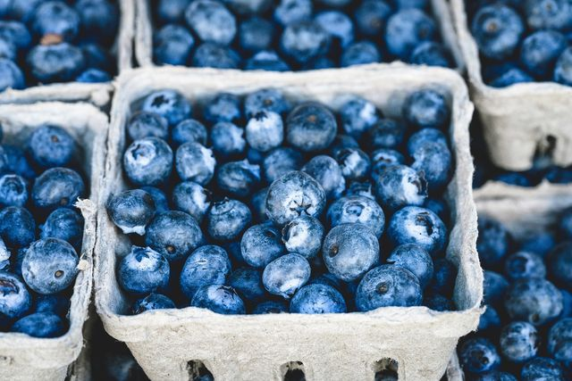 Buy the blueberries for the blueberry soup if possible regionally and in organic quality.