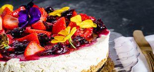 healthy cheesecake recipe